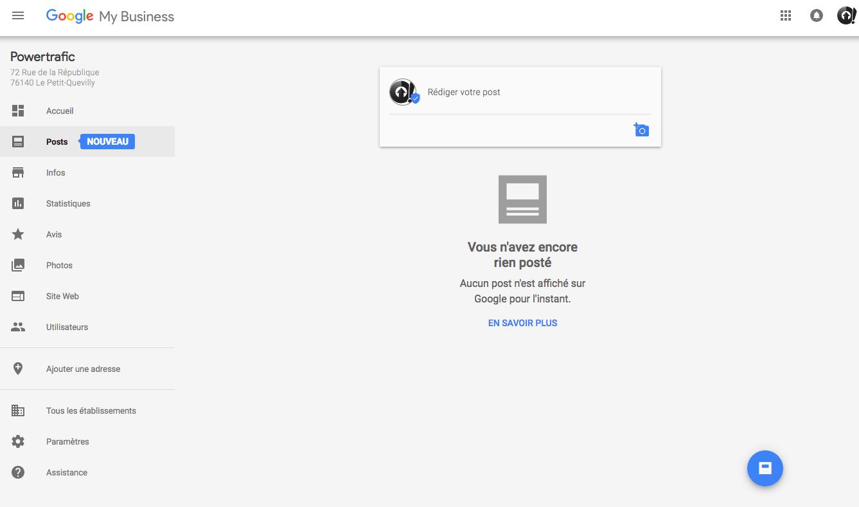 Google My Business fait peau neuve avec Google Posts, le chat et une nouvelle interface !