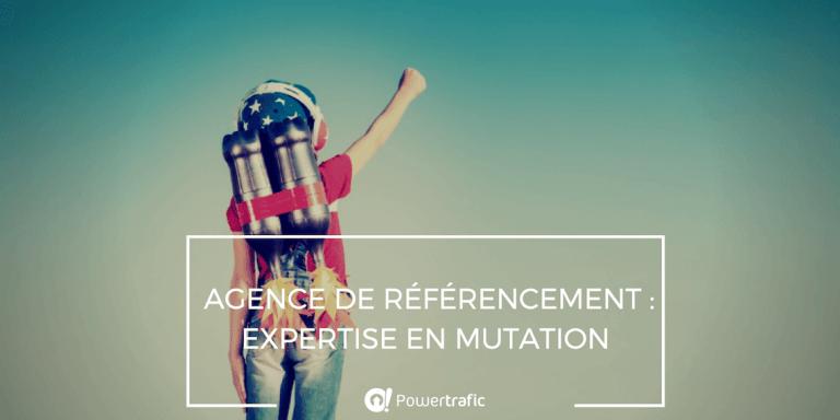 Agence de référencement : expertise en mutation