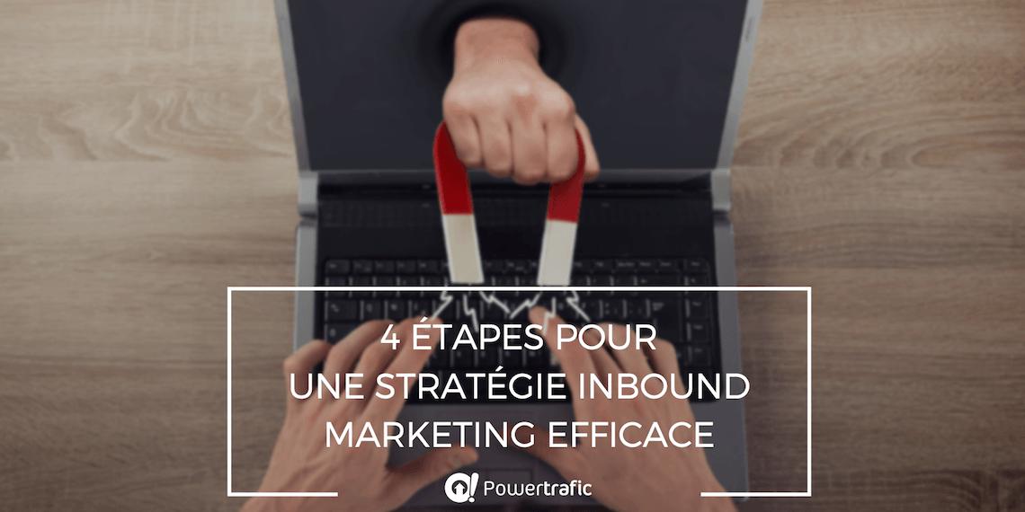 4 étapes pour mettre en place une stratégie inbound marketing