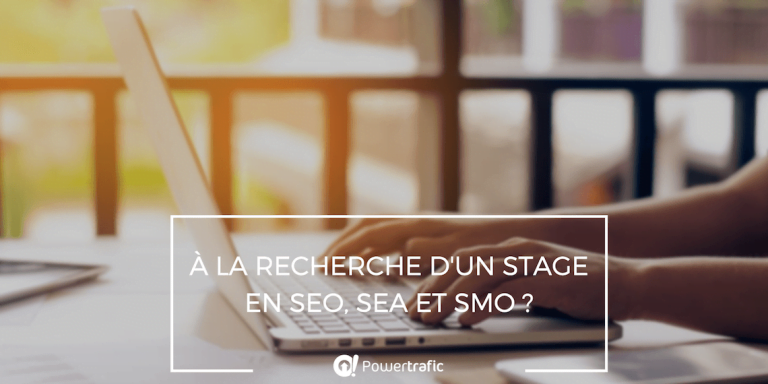 Stage webmarketing SEO SEA SMO