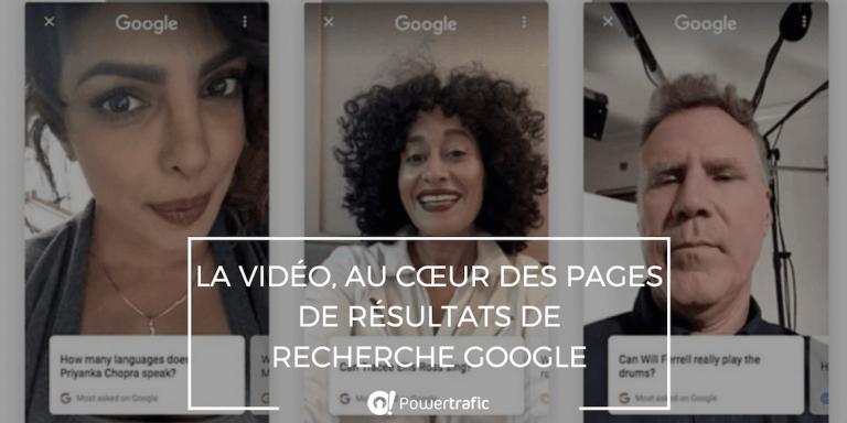 Answered on Google et Google Stamp : la vidéo arrive dans les résultats de recherche