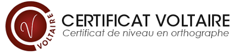 Logo certification voltaire