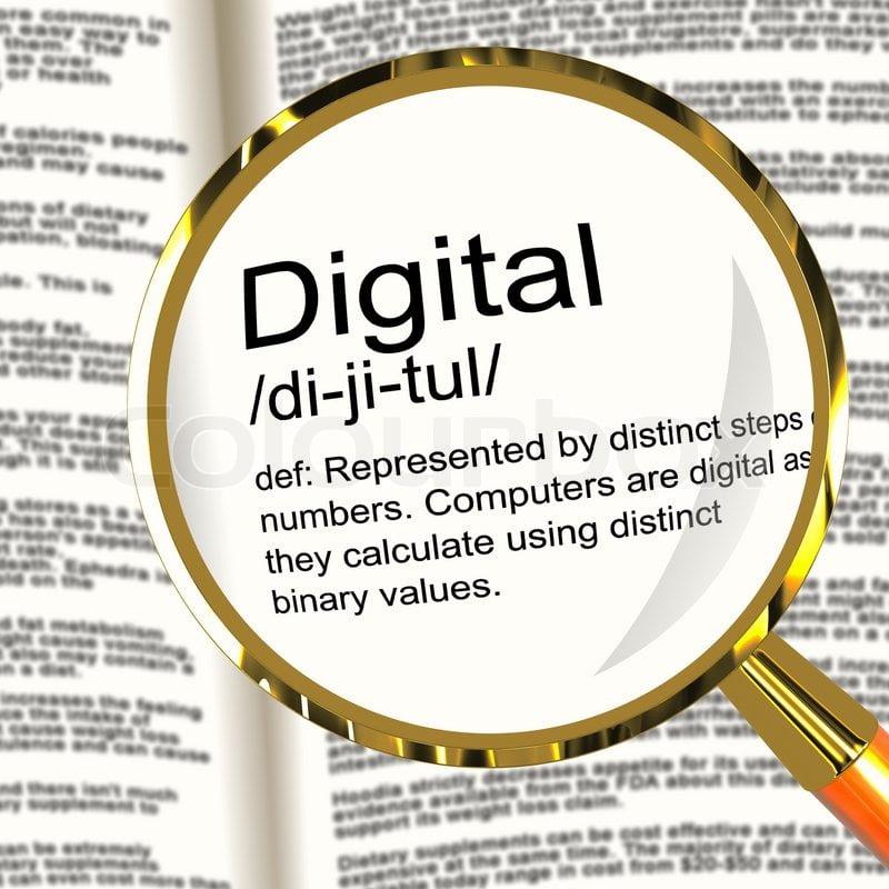 Définition de digital en anglais