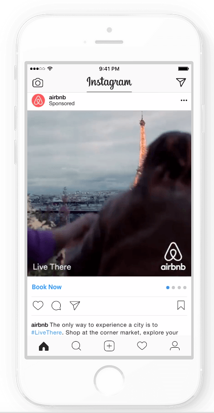 Campagne Instagram Airbnb
