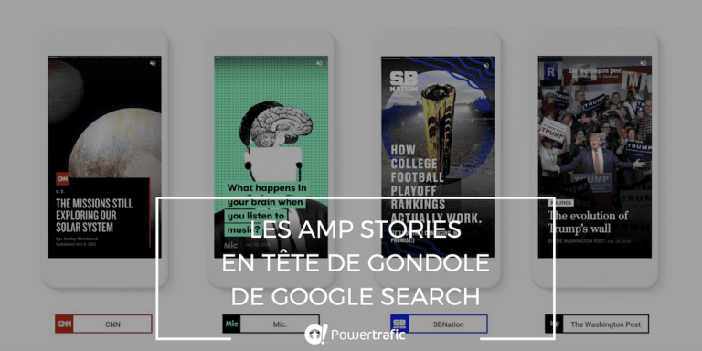 Les AMP Stories arrivent sur Google Search