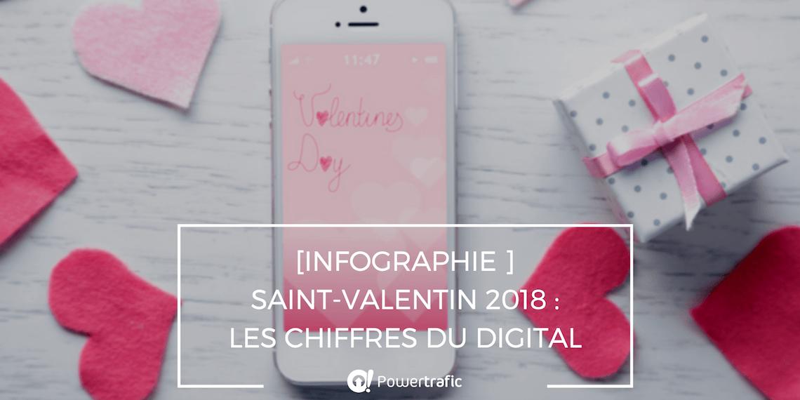 [Infographie ] Saint-Valentin 2018 : les chiffres du digital