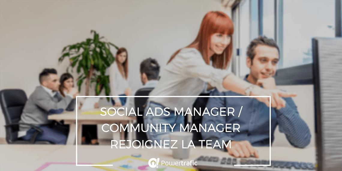 Offre d'emploi de Social Ads Manager / Community Manager (Rouen, 76)