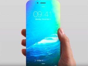 La vidéo verticale et l'iphone sans bordure
