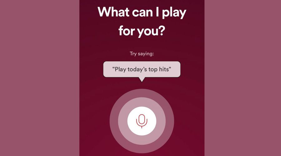 Recherche vocale via spotify