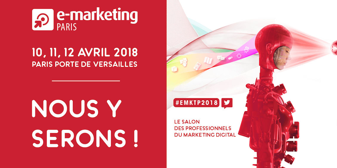 L'agence digitale Powertrafic participe au salon e-marketing 2018