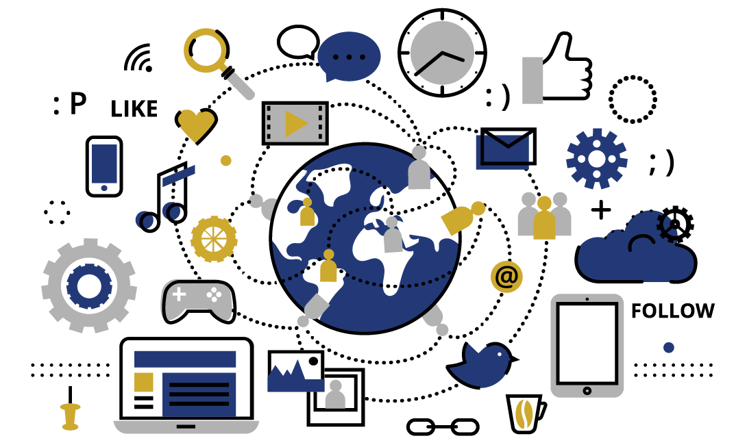 Owned media : réseaux sociaux, site internet, newsletter...