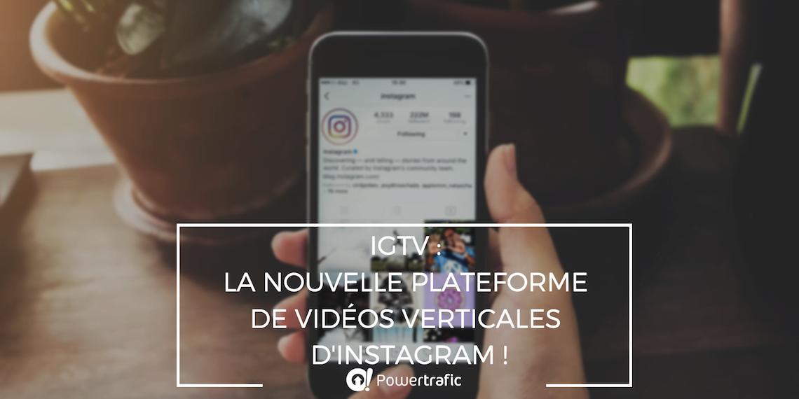 IGTV d'Instagram, une opportunité pour les marques ?