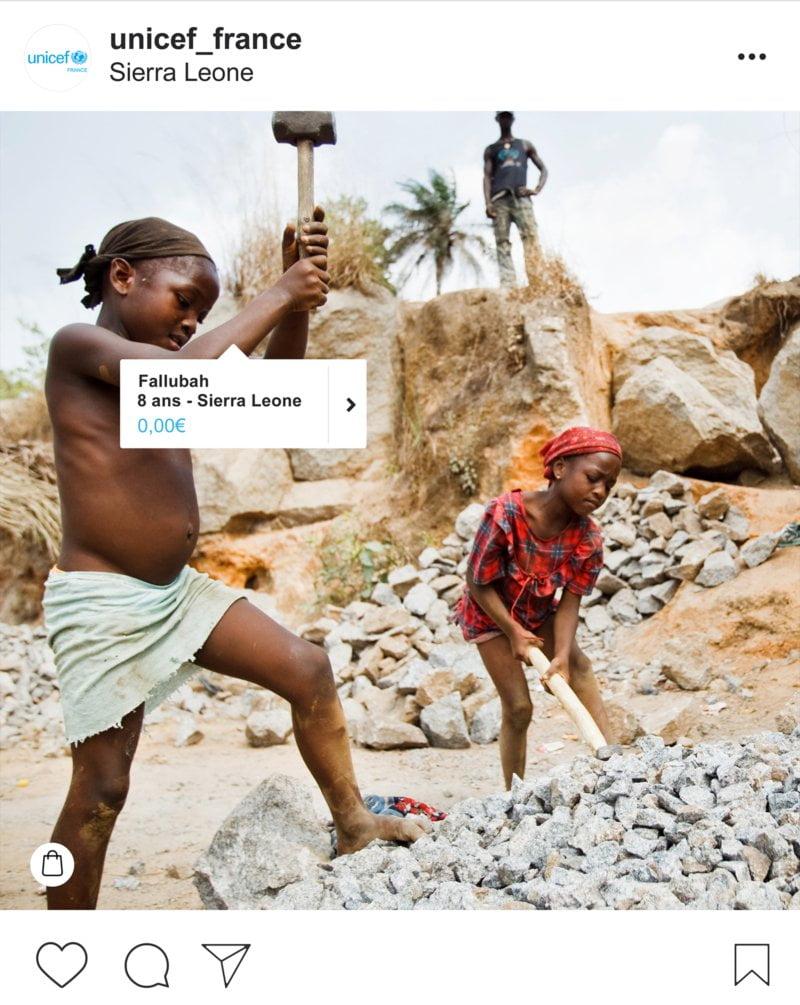 #NoPriceforKids, la dernière campagne de l'association UNICEF