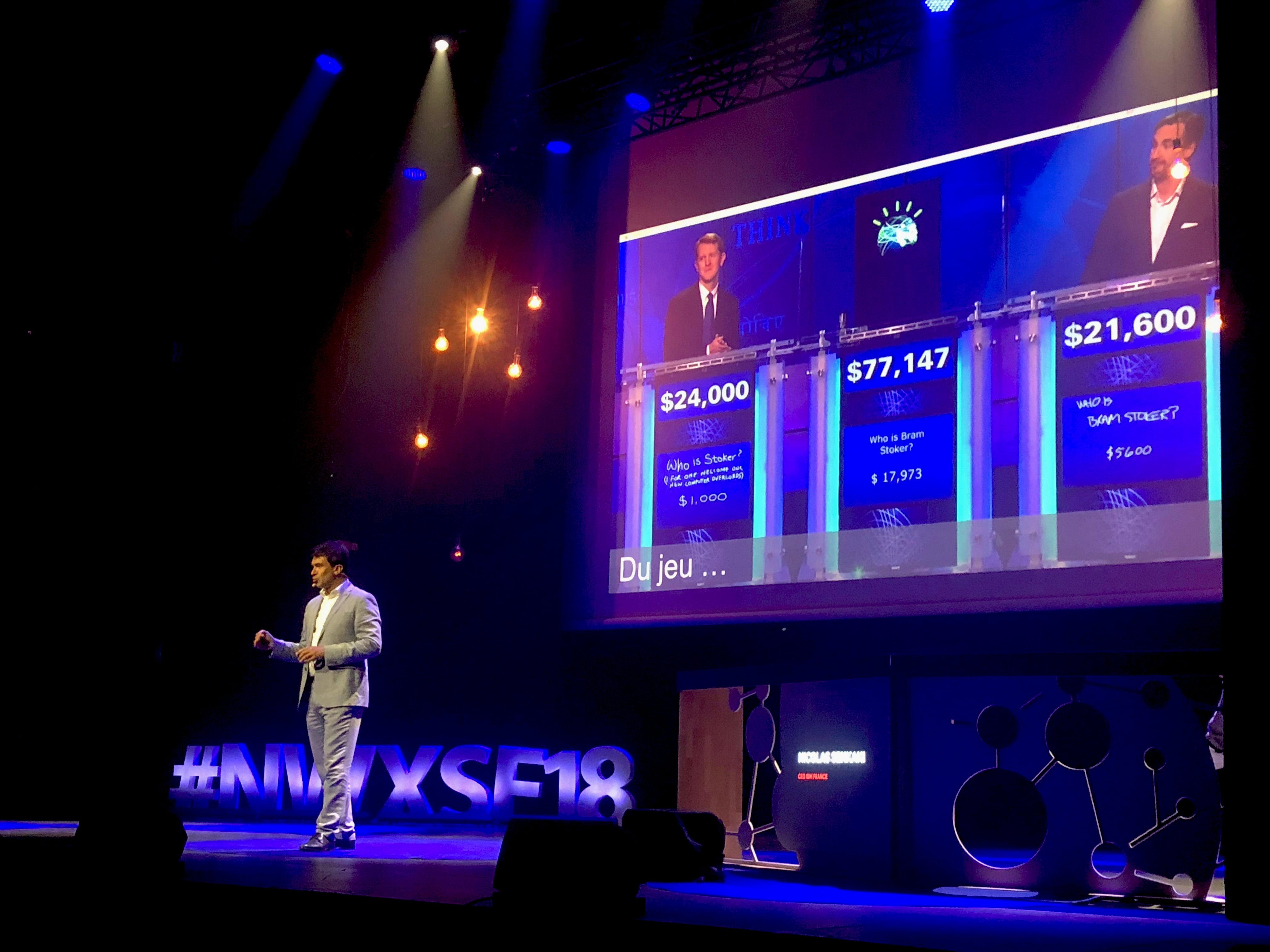 Conférence de Nicolas Sekkaki, CEO IBM France