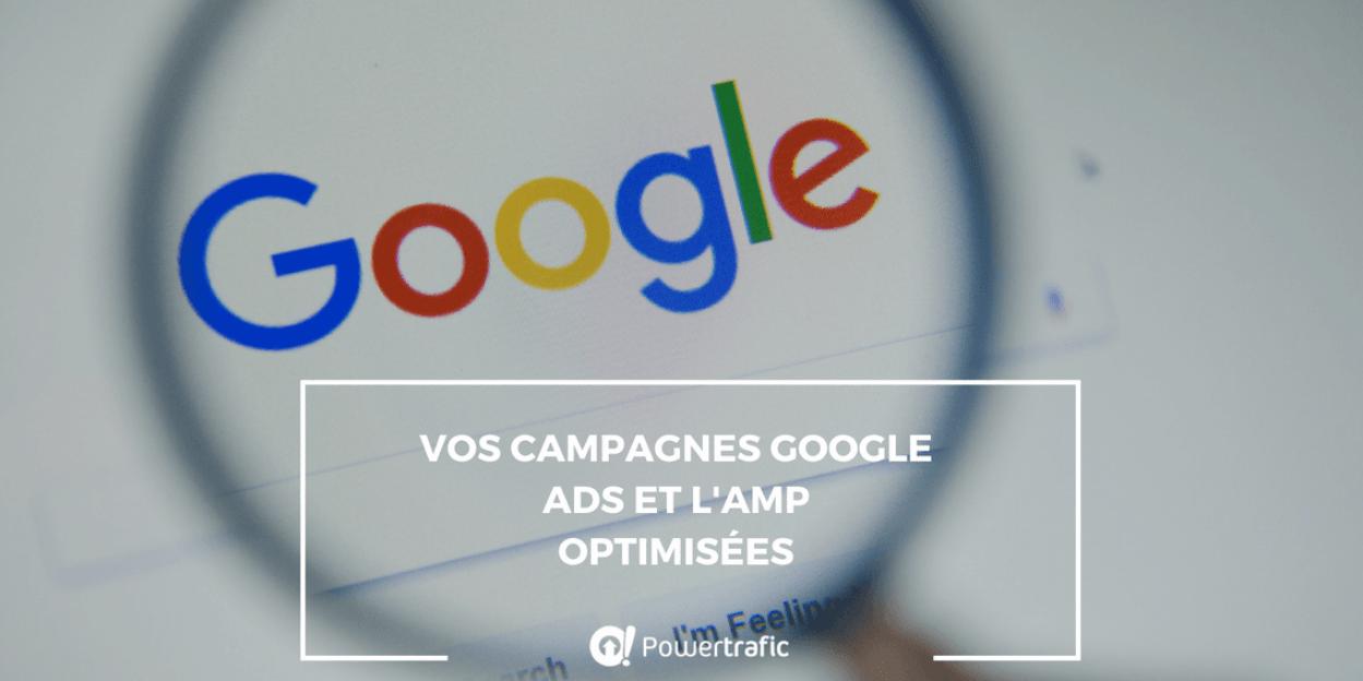 Vos campagnes Google Ads et l'AMP optimisées