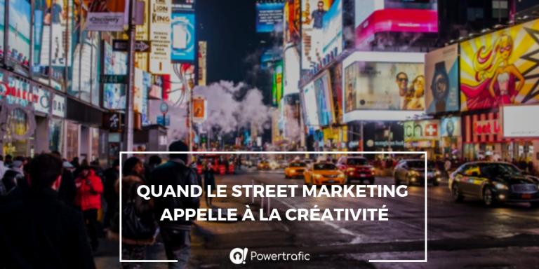 Street marketing : des campagnes publicitaires toujours plus brillantes