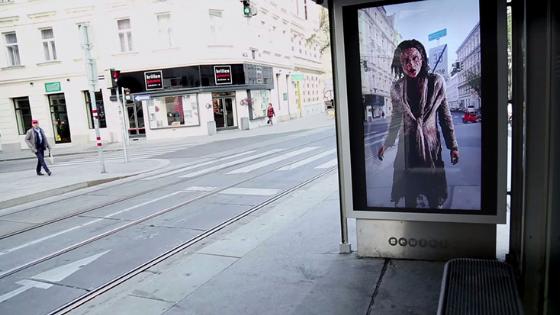 La série The Walking Dead utilise elle aussi la réalité augmenté pour son street marketing