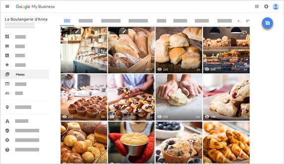 Visuel de la galerie photo des entreprises sur Google My Business