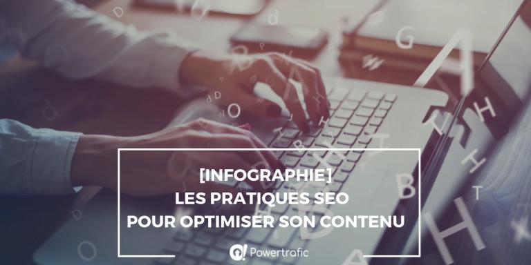 SEO : les bonnes pratiques pour optimiser son contenu en une infographie