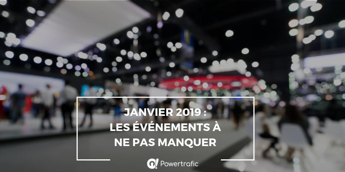 Février 2019 : les événements du digital à ne pas manquer