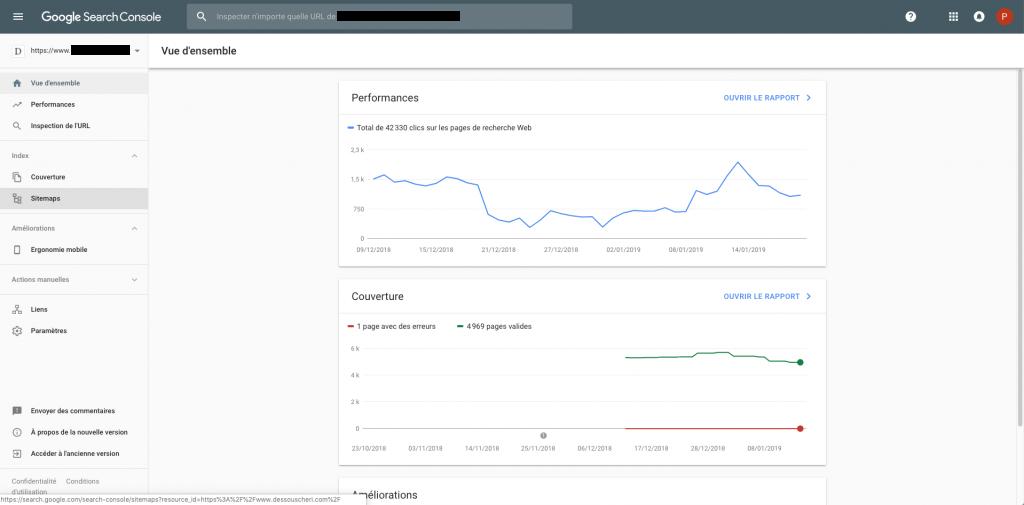 Référencement SEO : Google Search Console l'outil préféré des référenceurs