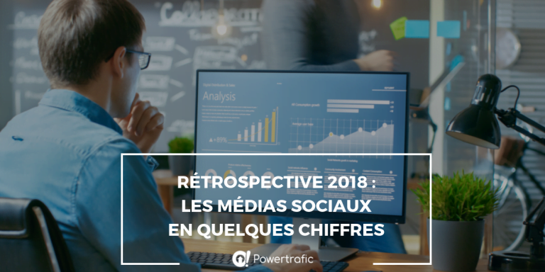 Rétrospective 2018 : les médias sociaux en quelques chiffres