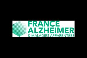 Logo France Alzheimer : association nationale de familles reconnue d'utilité publique