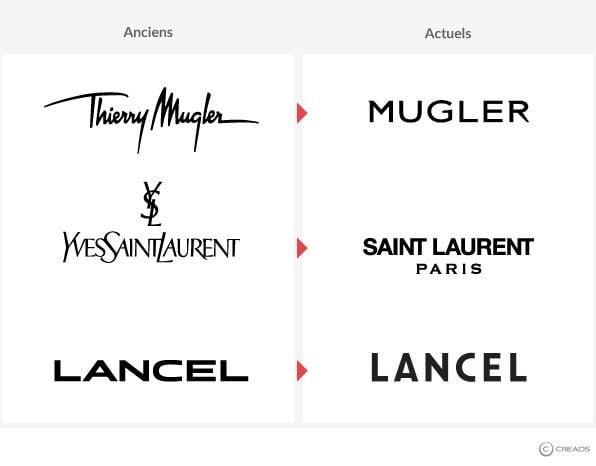 2019 : les marques de luxe adoptent une nouvelle typographie pour leurs logos