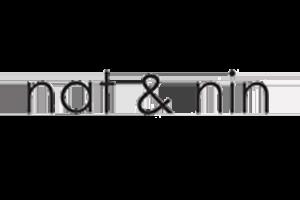 Logo Nat & Nin : Maroquinierie française, créatrice de sacs en cuir bohème chics