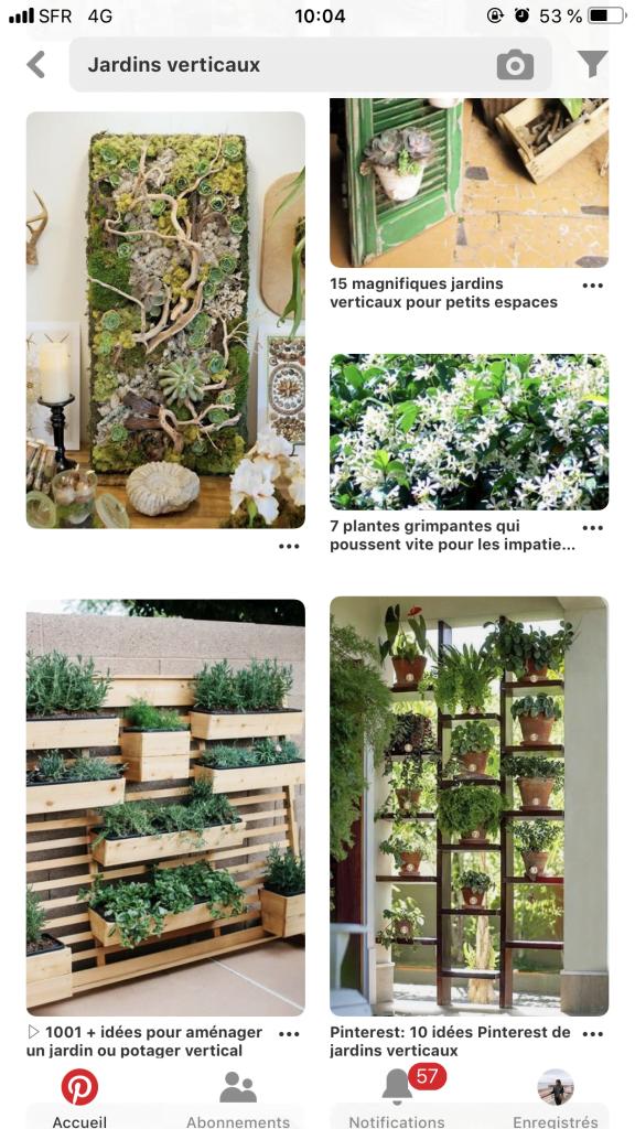 Les murs végétaux sont très recherchés sur Pinterest en 2019