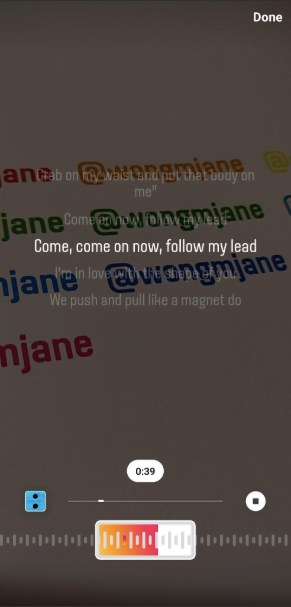 Instagram met en place une fonctionnalité karaoké pour ses utilisateurs