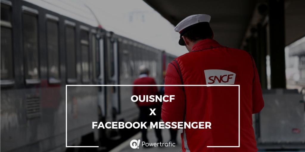 Réserver son billet SNCF sur Facebook Messenger, c'est possible !