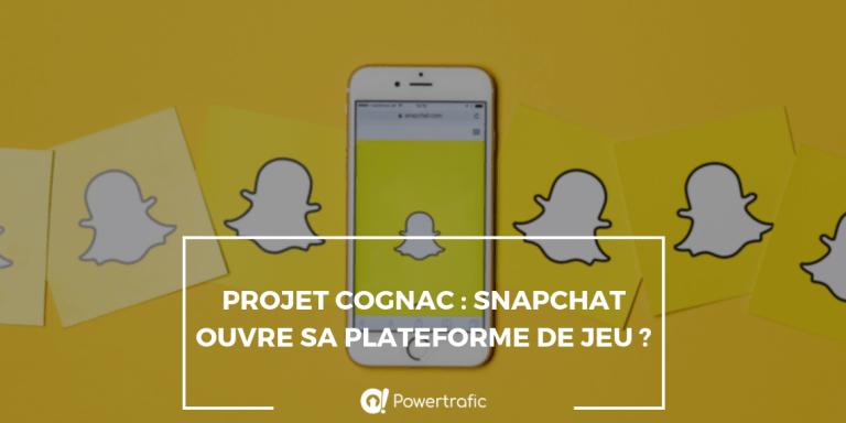 Projet Cognac : Snapchat ouvre sa plateforme de jeu ?