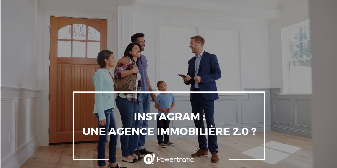 Instagram : une agence immobilière 2.0 ?