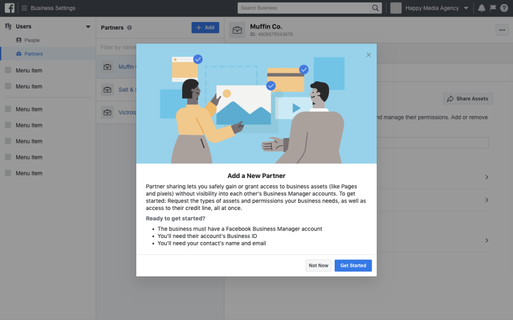 La nouvelle interface de Facebook Business Manager