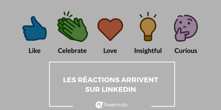 LinkedIn : des réactions sous les publications