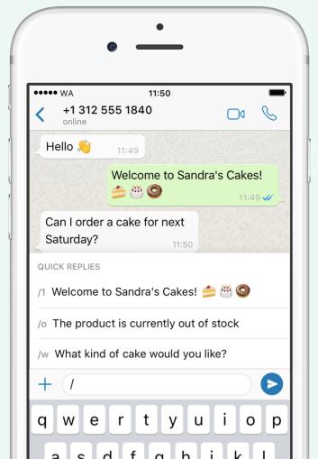 WhatsApp Business : programmer des réponses rapide sur le réseau social
