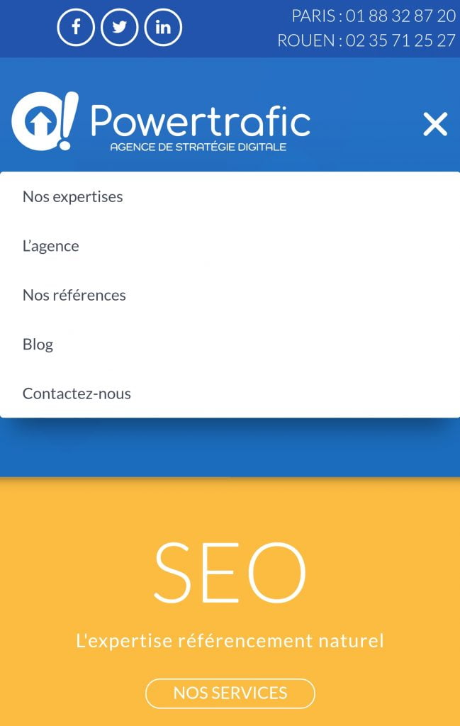 Optimiser sa stratégie mobile grâce au menu