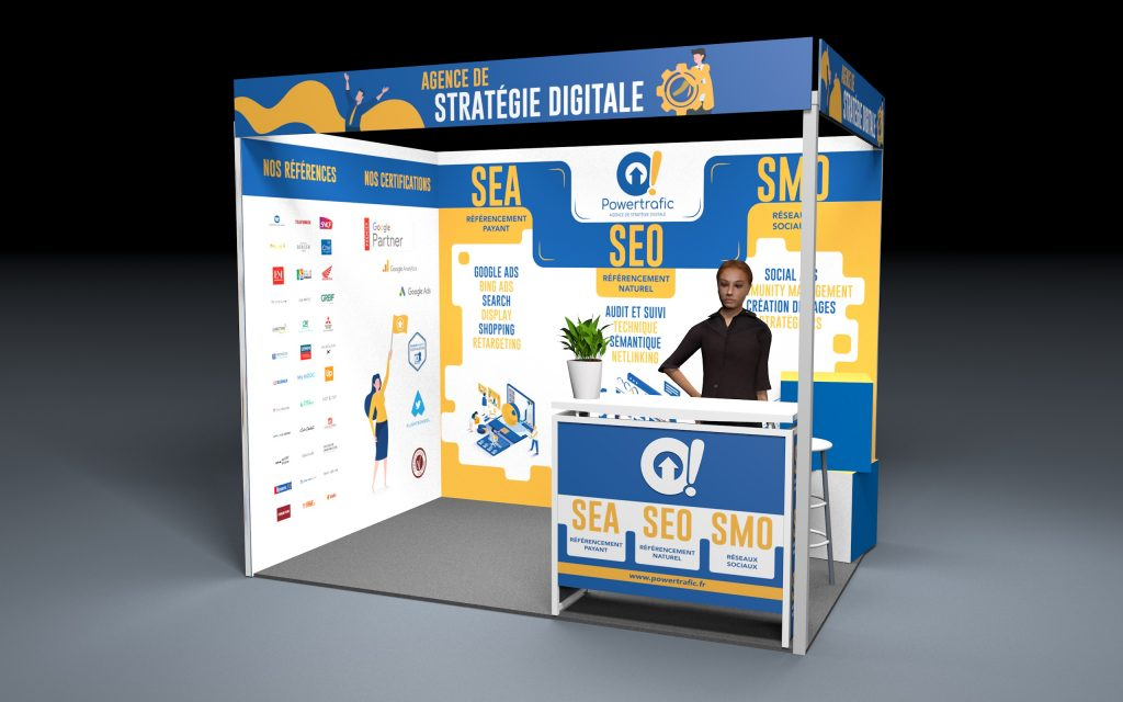 Stand du salon e-marketing 2019