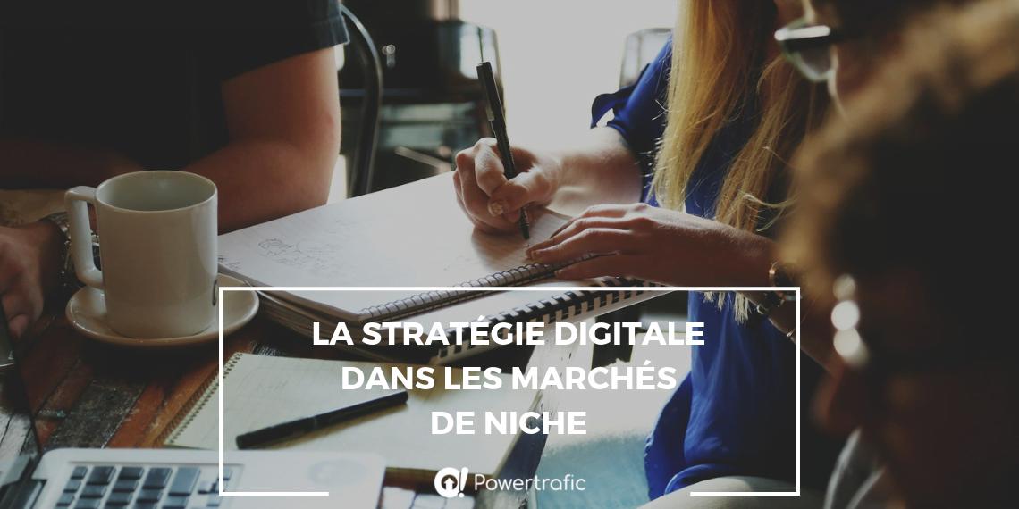 La stratégie digitale dans les marchés de niche