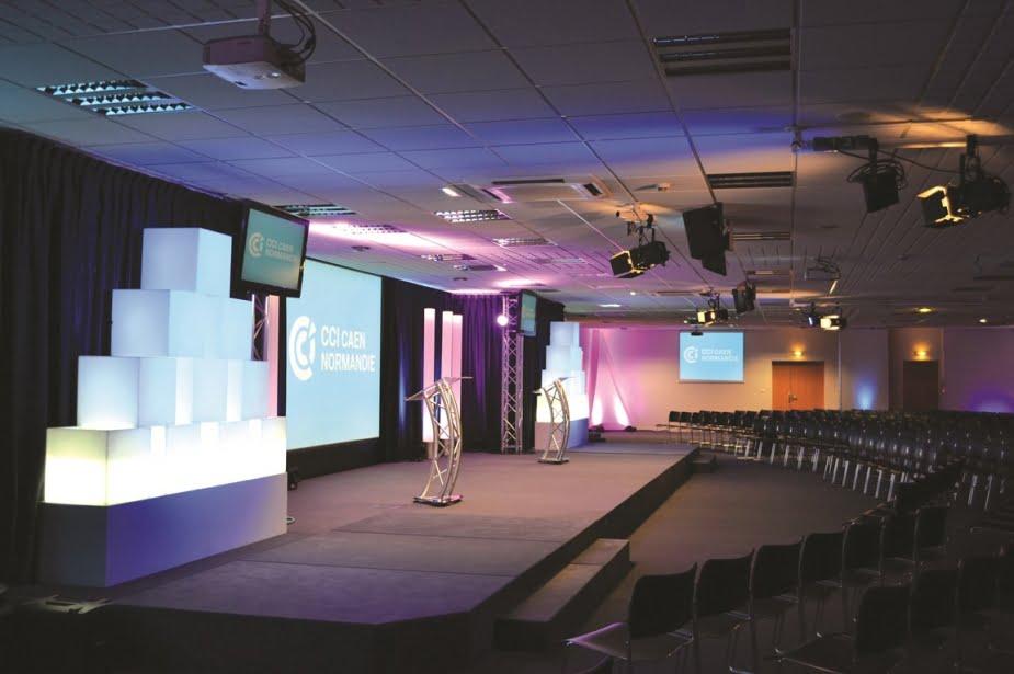 Salle de conférence WPN Digital