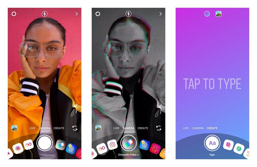 Le nouvel appareil photo d'Instagram