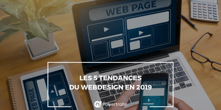 Les 5 tendances du Webdesign de 2019