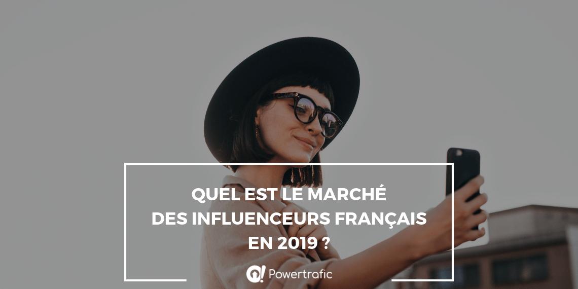 Les influenceurs français en 2019