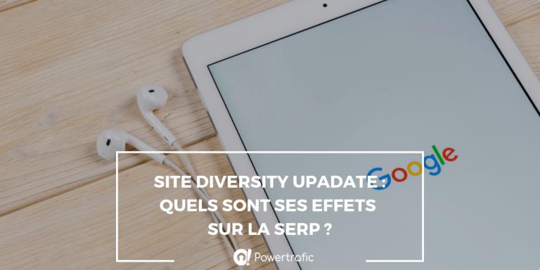 google serp seo site diversity