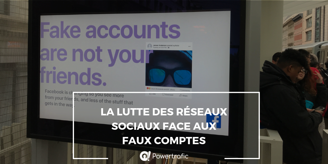 La lutte des réseaux sociaux face aux faux comptes