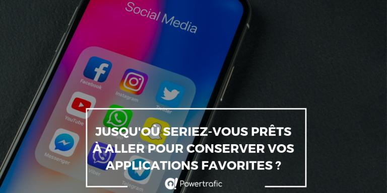 Jusqu'où seriez-vous prêts à aller pour convserver vos applications favorites ?