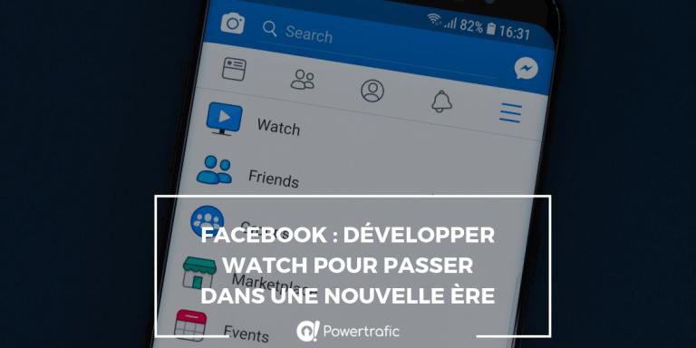 visuel facebook watch