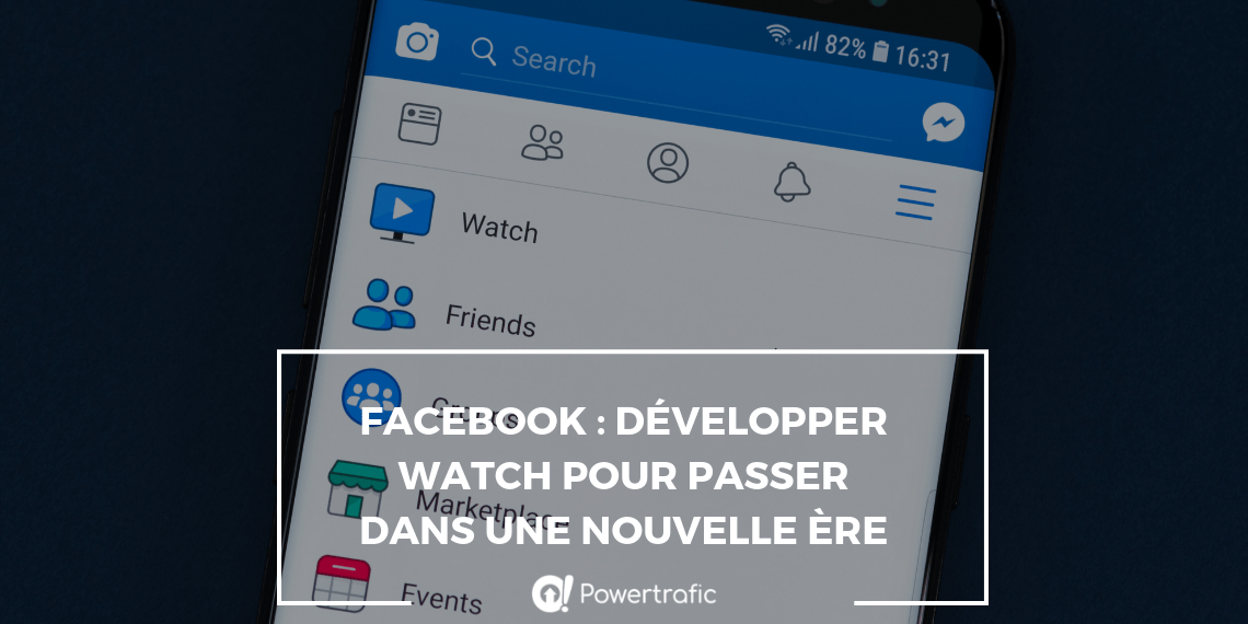 visuel facebook watch