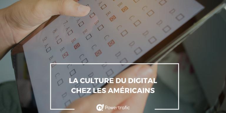La culture du digital chez les américains